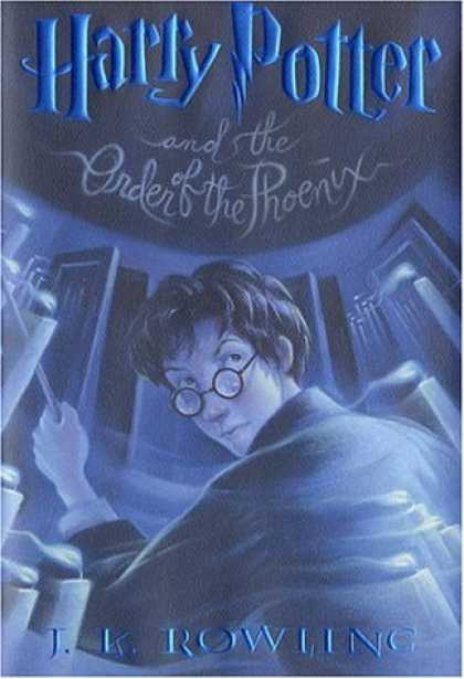 Bestsellers (2007) - Harry Potter and the Order of the Phoenix (Book 5) by J. K. Rowling