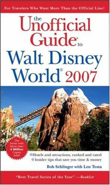 Bestsellers (2007) - The Unofficial Guide to Walt Disney World 2007 (Unofficial Guides) by Bob Sehlin