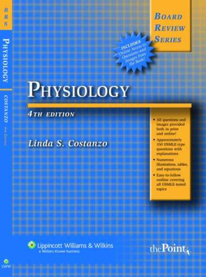Bestsellers (2007) - BRS Physiology (Board Review Series) by Linda S Costanzo