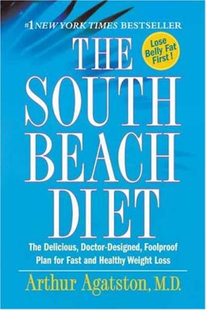 Bestsellers (2007) - The South Beach Diet: The Delicious, Doctor-Designed, Foolproof Plan for Fast an