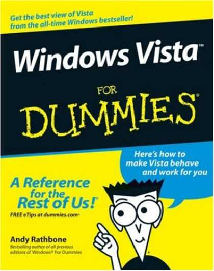 Bestsellers (2007) - Windows Vista For Dummies by Andy Rathbone