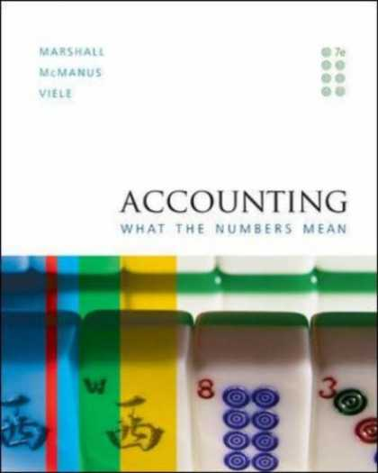 Bestsellers (2007) - Accounting: What the Numbers Mean by David Marshall