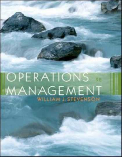 Bestsellers (2007) - Operations Management with Student DVD by William J Stevenson