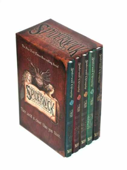 Bestsellers (2007) - The Spiderwick Chronicles (Boxed Set): The Field Guide; The Seeing Stone; Lucind