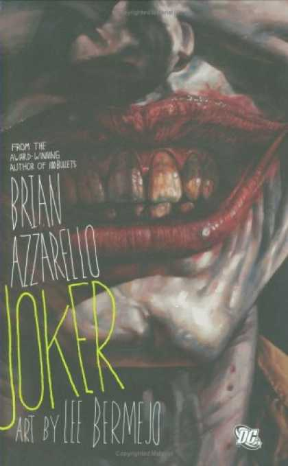 Bestsellers (2008) - The Joker by Brian Azzarello
