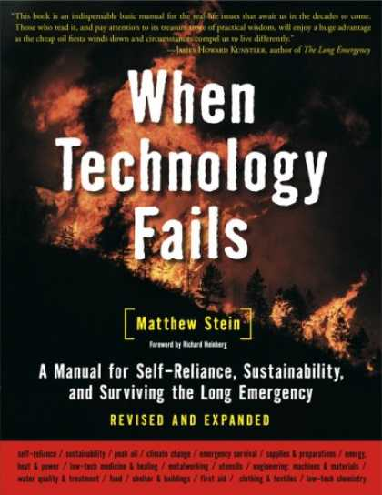 Bestsellers (2008) - When Technology Fails (Revised & Expanded): A Manual for Self-Reliance, Sustaina