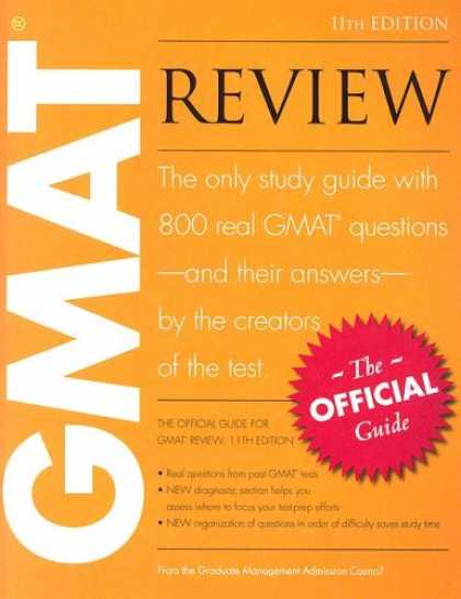 Bestsellers (2008) - The Official Guide for GMAT Review, 11th Edition by Graduate Management Admissio