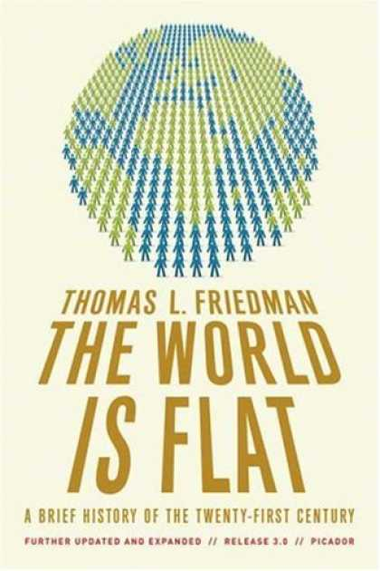 Bestsellers (2008) - The World Is Flat 3.0: A Brief History of the Twenty-first Century by Thomas L.