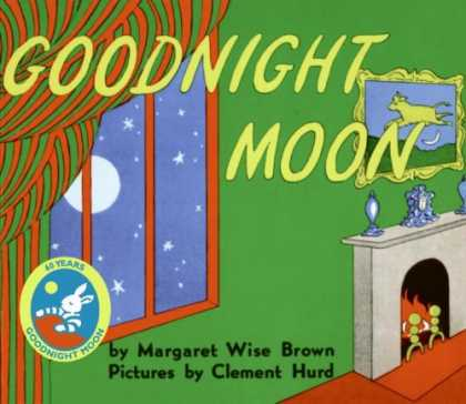Bestsellers (2008) - Goodnight Moon by Margaret Wise Brown