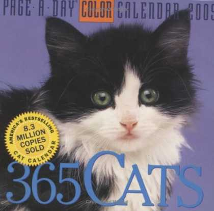 Bestsellers (2008) - 365 Cats Page-A-Day Calendar 2009 (Color Page-A-Day(r) Calendars) by Workman Pub