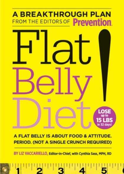 Bestsellers (2008) - Flat Belly Diet by Liz Vaccariello
