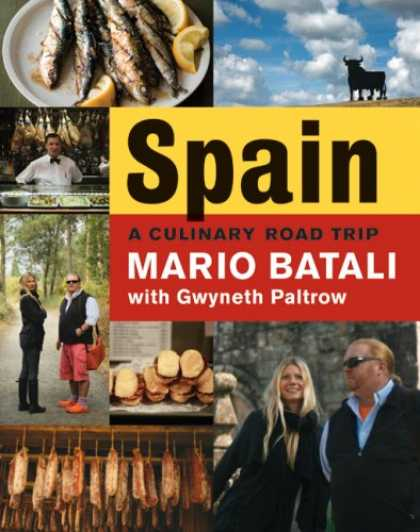 Bestsellers (2008) - Spain...A Culinary Road Trip by Mario Batali