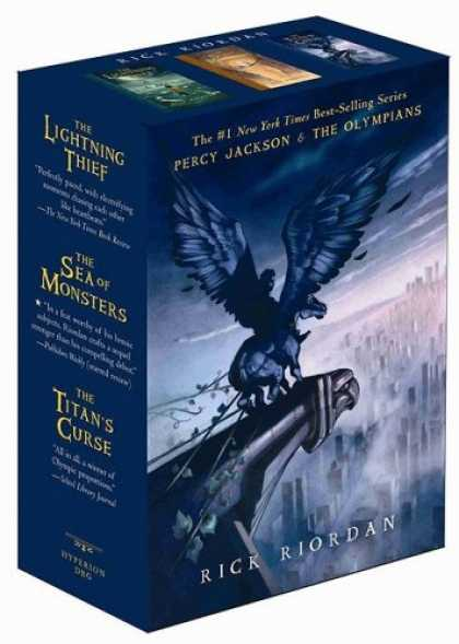 Bestsellers (2008) - Percy Jackson and the Olympians Boxed Set, The (Percy Jackson & the Olympians) b