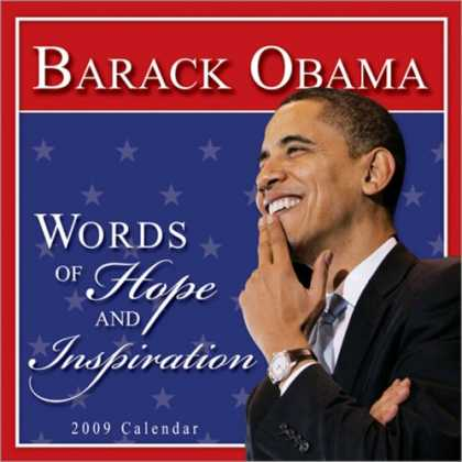 Bestsellers (2008) - 2009 Barack Obama wall calendar: Words of Hope and Inspiration by Inc. Sourceboo