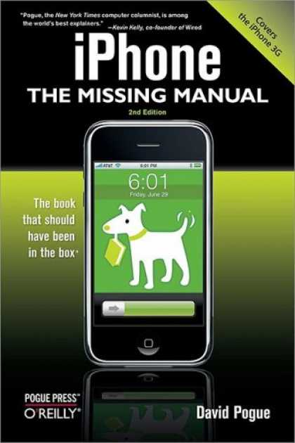 Bestsellers (2008) - iPhone: The Missing Manual: Covers the iPhone 3G by David Pogue