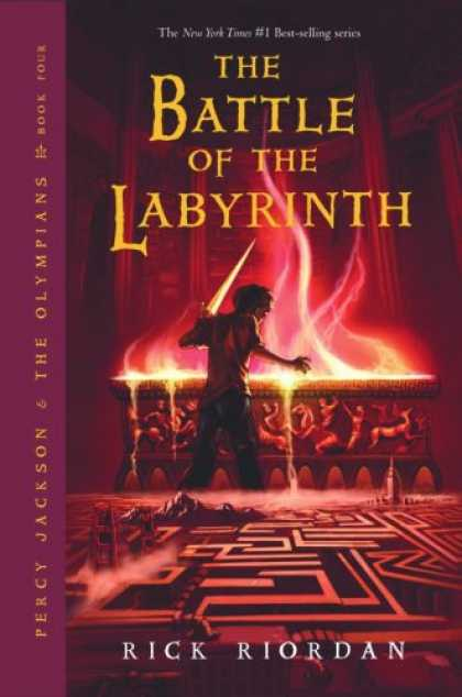 Bestsellers (2008) - The Battle of the Labyrinth (Percy Jackson and the Olympians, Book 4) by Rick Ri