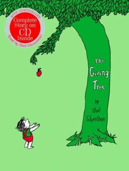 Bestsellers (2008) - The Giving Tree 40th Anniversary Edition Book with CD