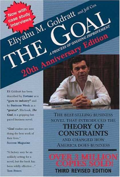 Bestsellers (2008) - The Goal: A Process of Ongoing Improvement by Eliyahu M. Goldratt