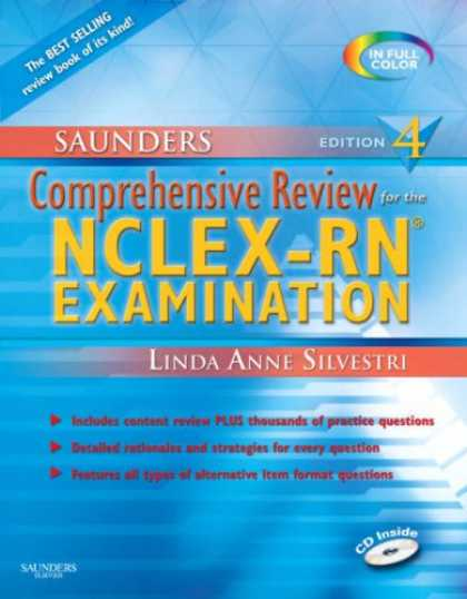 Bestsellers (2008) - Saunders Comprehensive Review for the NCLEX-RN® Examination (Saunders Compre
