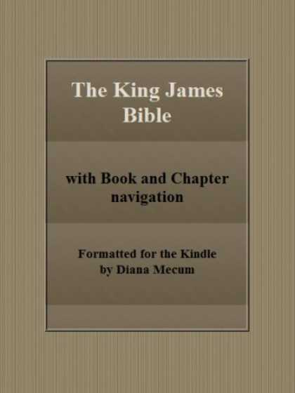 Bestsellers (2008) - The King James Bible (with book and chapter navigation) by Various