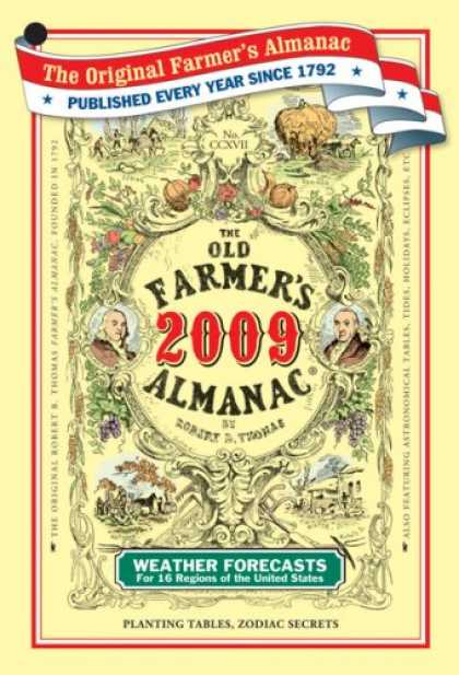 Bestsellers (2008) - The Old Farmer's Almanac 2009 by Old Farmer's Almanac