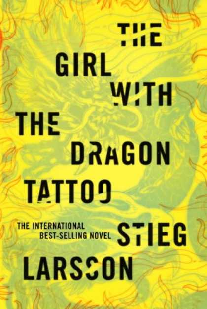 Bestsellers (2008) - The Girl with the Dragon Tattoo by Stieg Larsson