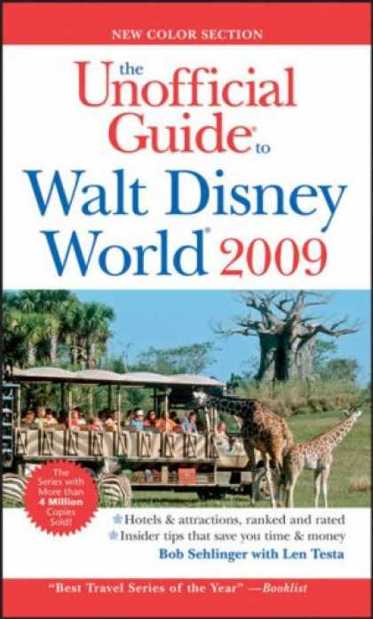 Bestsellers (2008) - The Unofficial Guide Walt Disney World 2009 (Unofficial Guides) by Bob Sehlinger