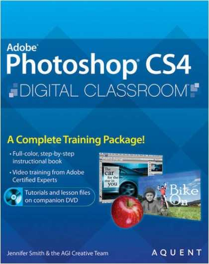 Bestsellers (2008) - Photoshop CS4 Digital Classroom by Jennifer Smith