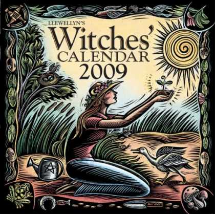 Bestsellers (2008) - Llewellyn's 2009 Witches' Calendar by Llewellyn