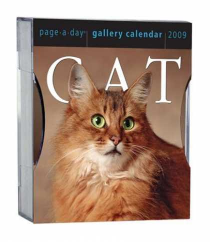 Bestsellers (2008) - Cat Gallery Calendar 2009 (Page a Day Gallery Calendar) by Workman Publishing Co