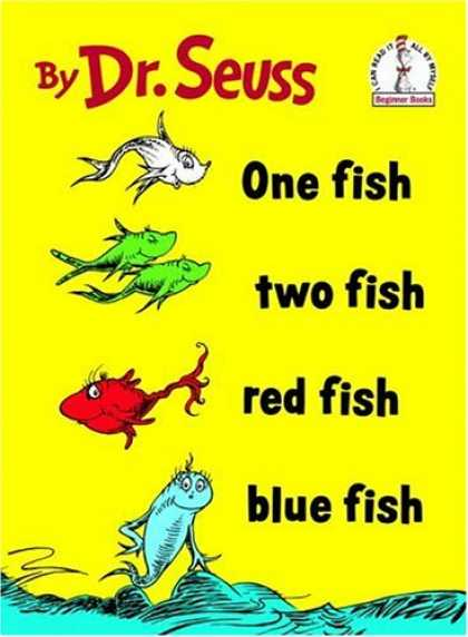 Bestsellers (2008) - One Fish Two Fish Red Fish Blue Fish (I Can Read It All by Myself) by Dr. Seuss
