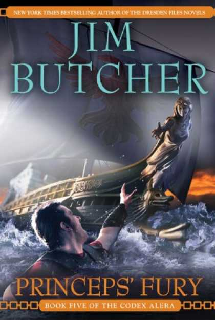 Bestsellers (2008) - Princeps' Fury (Codex Alera, Book 5) by Jim Butcher
