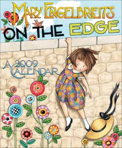 Bestsellers (2008) - Mary Engelbreit's On the Edge: 2009 Wall Calendar by Mary Engelbreit