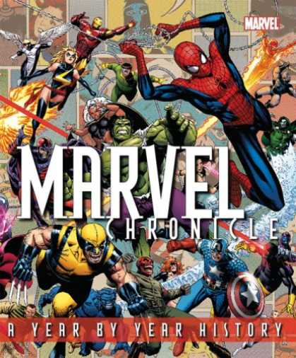 Bestsellers (2008) - Marvel Chronicle by Tom DeFalco