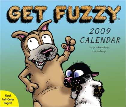 Bestsellers (2008) - Get Fuzzy®: 2009 Day-to-Day Calendar by Darby Conley