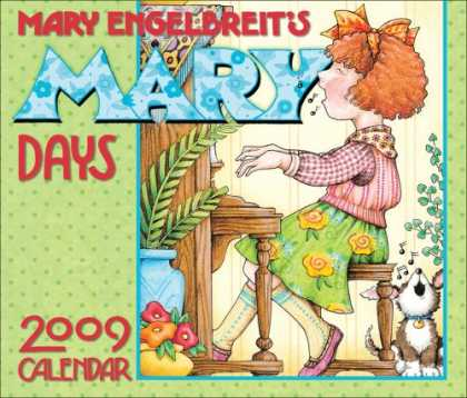 Bestsellers (2008) - Mary Engelbreit's Mary Days: 2009 Day-to-Day Calendar by Mary Engelbreit