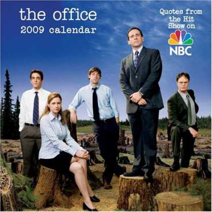Bestsellers (2008) - The Office (based on the NBC sitcom): 2009 Day-to-Day Calendar by LLC Andrews Mc
