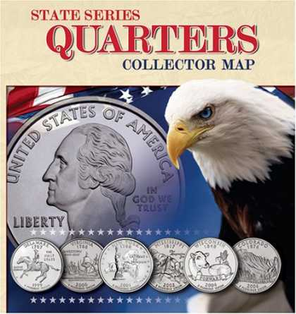 Bestsellers (2008) - State Series Quarters Collector Map