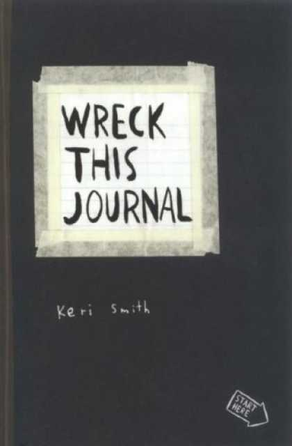 Bestsellers (2008) - Wreck This Journal by Keri Smith