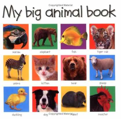Bestsellers (2008) - My Big Animal Book (My Big Board Books) by Roger Priddy