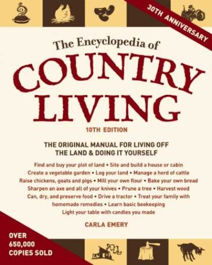 Bestsellers (2008) - The Encyclopedia of Country Living by Carla Emery