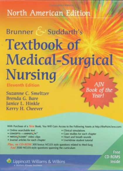 Bestsellers (2008) - Brunner & Suddarth's Textbook of Medical Surgical Nursing, North American Editio