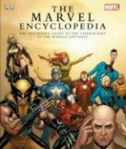 Bestsellers (2008) - The Marvel Encyclopedia by Daniel Wallace