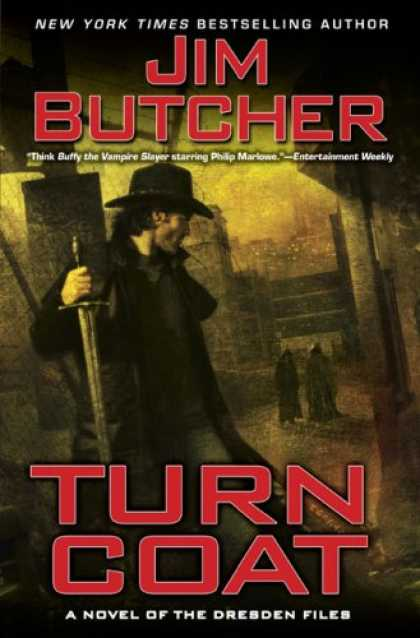 Bestsellers (2008) - Turn Coat (The Dresden Files, Book 11) by Jim Butcher
