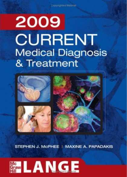 Bestsellers (2008) - Current Medical Diagnosis and Treatment 2009 by Stephen J. McPhee