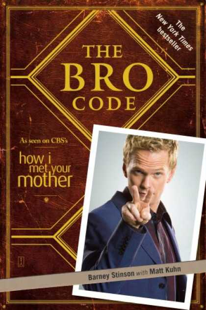Bestsellers (2008) - The Bro Code by Barney Stinson