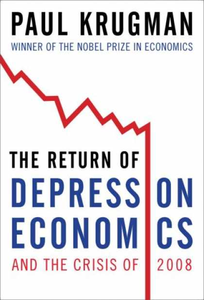 Bestsellers (2008) - The Return of Depression Economics and the Crisis of 2008 by Paul Krugman
