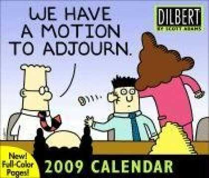 Bestsellers (2008) - Dilbert: 2009 Day-to-Day Calendar by Scott Adams