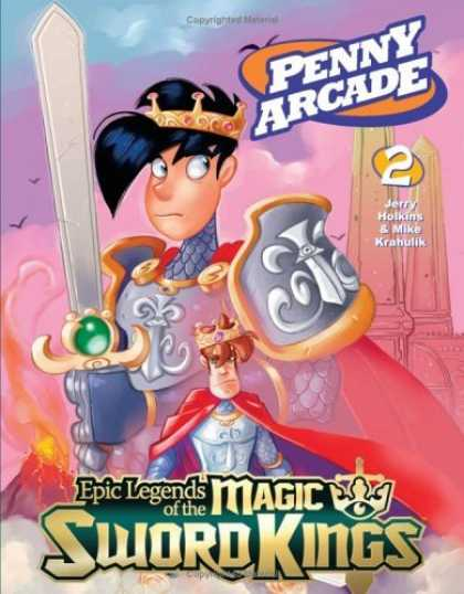 Bestselling Comics (2006) - Penny Arcade Volume 2: Epic Legends Of The Magic Sword Kings by Jerry Holkins - Penny Arcade - 2 - Jerry Holking - Mike Krahulik - Magic Sword Kings