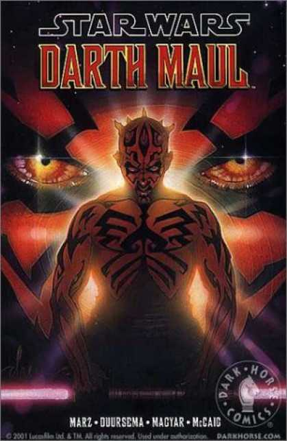 Bestselling Comics (2006) - Star Wars: Darth Maul (Star Wars) by Ron Marz - Star Wars - Darth Maul - Dark Horse Comics - Mars - Duursema